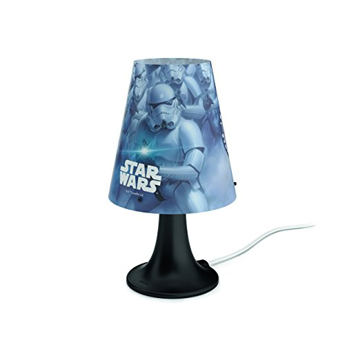 Philips Lampe de chevet LED Motif Star Wars Noir