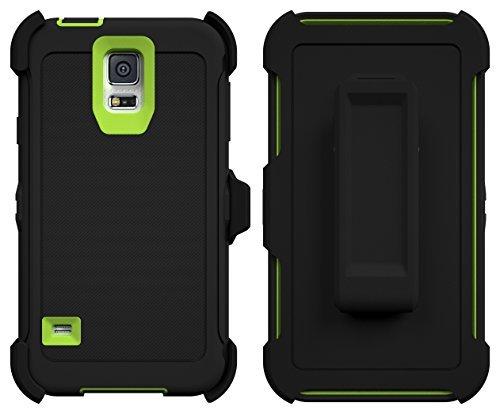 Galaxy S5Fall, Toughbox® [Armor Serie] [stoßfest] für Samsung Galaxy S5Case [in Displayschutzfolie] [kommt mit Holster & Gürtelclip] (Galaxy Fall Samsung S5 Gel)