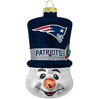 """New England Patriots Weihnachtsbaum Deko """"Schneemann"""""""