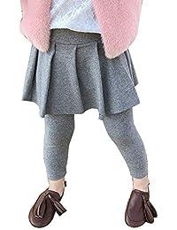 7f0e5f8ffc Leggings para Niños Ocio Falda Pantalones Elástico Cómodo ...