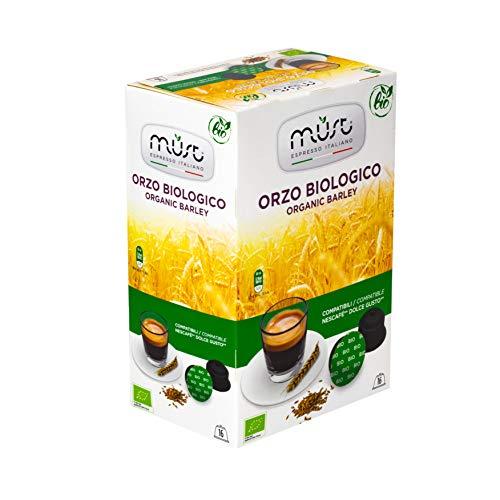 Must Espresso Orzo Biologico Pods - Organic Dolce Gusto Compatible Capsules must espresso orzo biologico pods - organic dolce gusto compatible capsules Must Espresso Dolce Gusto Compatible Capsules 41rEcvWh9qL