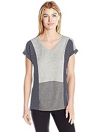 Calvin Klein Performance Women's Plus Size Short Sleeve Cold Shoulder Tee