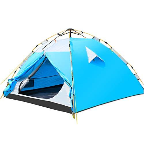 OLLY Marke 2 Personen Zelt Automatic Pop Up Hydraulische Familienzelt Doppelschicht Wasserdichte Leichte Kuppel Outdoor Zelt