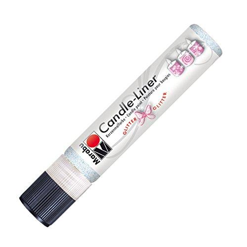 Marabu 180509590 - Candle Liner, 25 ml, glitter opal