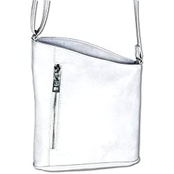 Jennifer Jones - Bolso cruzados para mujer Small, color blanco, talla Small