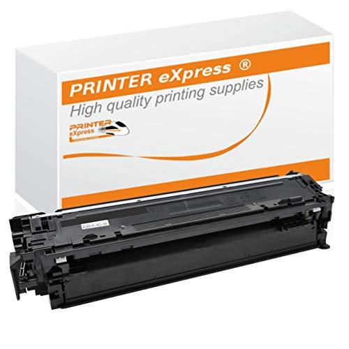 Printer-eXpress Toner ersetzt HP CE740-A, 307A für Color Laserjet CP5225, CP5225DN, CP5225N, CP5225XH Professional Drucker schwarz (Hp Cp5225 Toner)