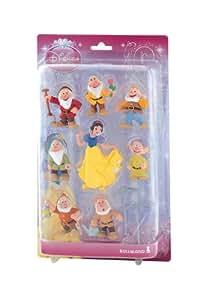 Bully - B12103  - Boite Cadeau - Walt Disney Blanche Neige - 8 Figurines