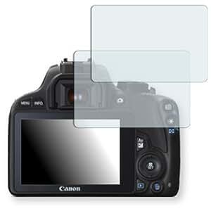 2x Golebo Anti-Glare screen protector for Canon EOS 100D (Anti-Reflex, Air pocket free application, Easy to remove)