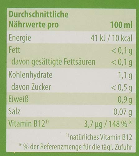 LivQ Bio Essenz Vitalstoffkonzentrat 250 ml - 31 Bio-Zutaten in Rohkost-Qualität fermentiert - natürliches Vitamin B12 & Milchsäurebakterien