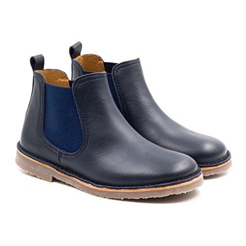 Boni Benoit - chaussure enfant cuir bleu