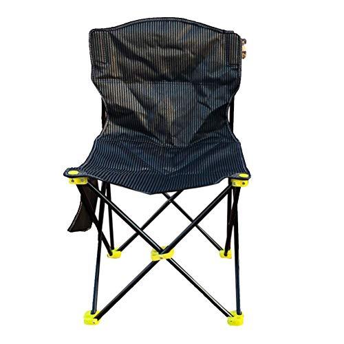 Preisvergleich Produktbild Klappbarer Camping Sitz Campingstuhl Mit Seitentasche Lounge-Sessel Für Terrasse Schwimmbad Klapp Angeln Stuhl Freizeit Strand Strand Studio Stuhl