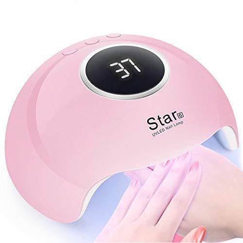 mcnory 36w lampada unghie uv led per gel unghie automatico sensore con 3 timer preimpostati (30s,60s,90s)