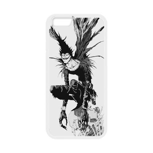 Death Note coque iPhone 6 4.7 Inch Housse Blanc téléphone portable couverture de cas coque EBDXJKNBO11481
