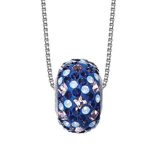 Haixin Argent sterling collier géométrique transfert Perle Cristal à l'aide d'éléments Swarovski bijoux