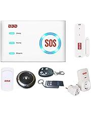 D3D Model-D10 Wi-Fi & GSM Home Security Alarm System with Mobile Application. Mobile App & Smart Appliances Control