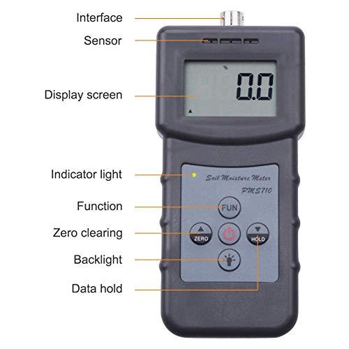 Präzision Digitale Holzfeuchte-messgerät Lcd Display Hygrometer Temperatur Luftfeuchtigkeit Tester Meter Wetterstation Diagnose-tool Messung Und Analyse Instrumente