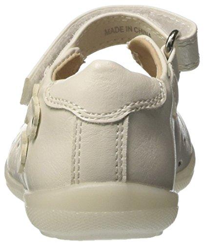 BATA  2211169, Chaussures souples pour bébé (fille) - blanc Bianco
