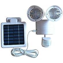 ZJ 22-LED solaire motion sensor sécurité inondation légère de couleur blanche sosie