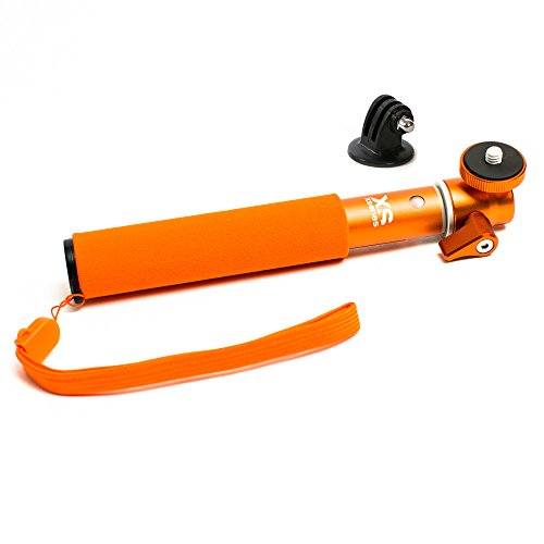 X-Sories U-Shot (with Tripod Mount) Selfie Stange Stick Teleskopstab Monopod orange