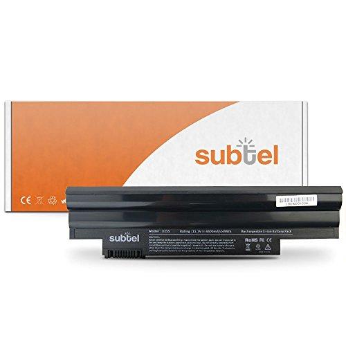subtel® Qualitäts Akku (4400mAh) für Acer Aspire One 522 (AO522) / 722 / D255 (AOD255) / D255E / D257 AL10A31 Notebookakku Laptopakku Ersatzakku Batterie (Batterien Für Acer Aspire One 722)