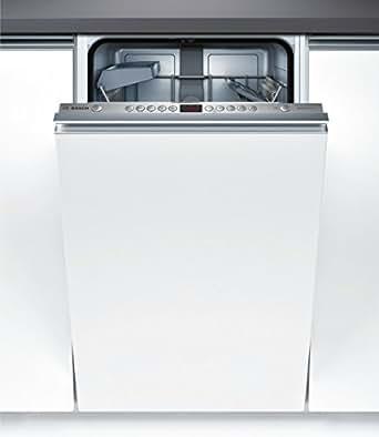 Bosch SPV53N00EU Fully built-in 9places A+ Acier inoxydable lave-vaisselle - lave-vaisselles (Entièrement intégré, Acier inoxydable, boutons, A, Auto 45-65 ºC, Économie, verre/délicat, Intensif, Rapide, A+)