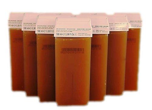 10 Honig Wachspatronen 100 ml Nachfüllset für Wachgeräte und Wachsstation zur Haarentfernung