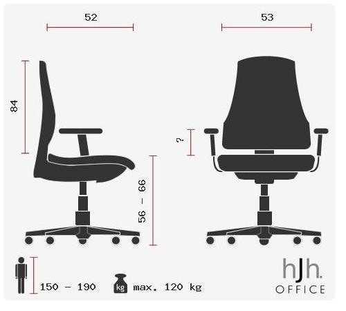 hjh OFFICE INDY Zocker Stuhl - 20