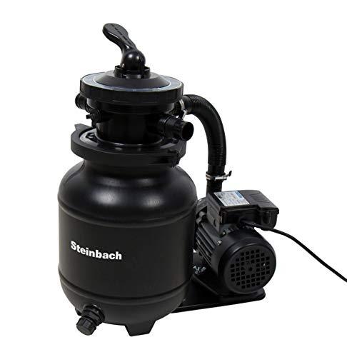 Steinbach Speed Clean Classic 250N Sandfilteranlage, Umwälzleistung 3,8 m³/h, 230 V/200 Watt, Anschluss Ø 32/38 mm, 040385