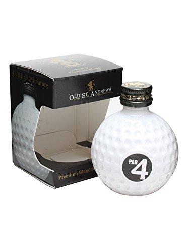 Old St. Andrews Golfball Par 4 Premium Blended Whisky 5 cl -