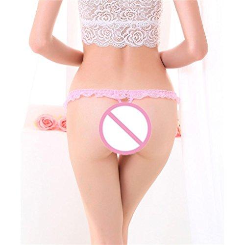 Frauen Spitze Breathable Thongs Unterhose - Bluestercool C