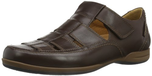 Mephisto - Sandali sportivi RAFAEL ANTICA 8851 DARK BROWN, Uomo, Marrone (Braun (DARK BROWN ANTICA 8851)), 46