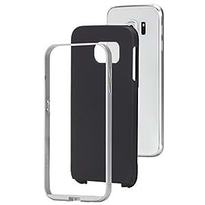 Case-Mate Slim Tough Coque pour Samsung Galaxy S6 Noir/Argent