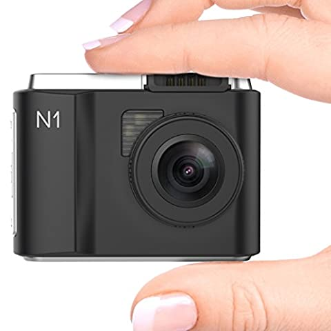 Vantrue N1 Mini Dash Cams for Cars - Full HD 1080P Car Dashboard Camera DVR Video Recorder with Parking Monitor, G-Sensor, Super Night