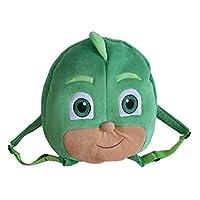 Official Licensed Kids Large PJ Masks Plush Backpack Green Gekko 34cm