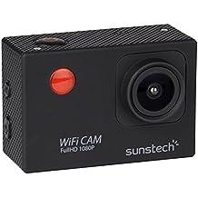 "Sunstech ACTIONCAM10BK - Cámara deportiva (12 MP, pantalla de 2"") color negro"