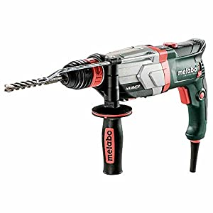 Metabo 600713500 600713500-Martillo Ligero SDS-Plus UHE 2860-2 Quick 1100W, 1 W, 1 V, Verde – Negro