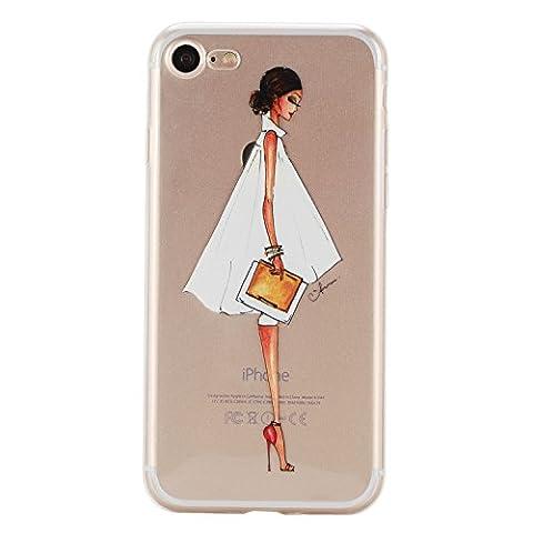 iPhone 7 hülle,iPhone 7 Case, Cozy Hut Kratzfeste Plating TPU Silicone Case Schutzhülle Ultra Dünn Tasche für mit iPhone 7 (4,7 Zoll) Hülle Case Transparent - Mode