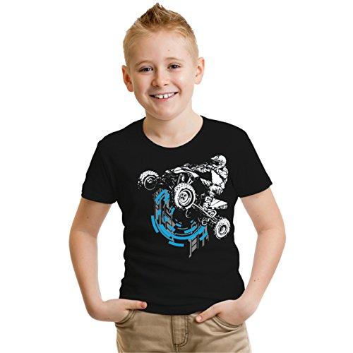 Kinder T-Shirt Quad No Limit Schwarz