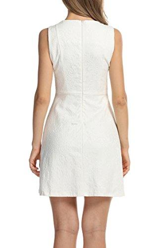 MEXI - Robe - Femme Weiß