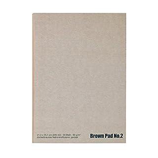 NEU Der braune Block No.2, A2, 50 Blatt