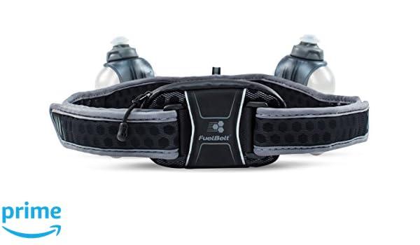 FuelBelt Helium Ultra Light Belt-Black//Gray Unisex 20 Oz New Free Shipping