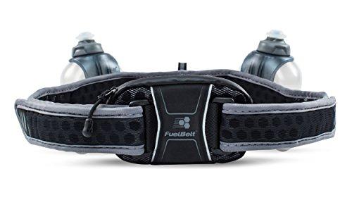 Harbinger FuelBelt Helium Ultralight Hydration Running Gürtel mit Speicher und Zwei BPA frei Wasser Flaschen, 20Unze Gesamtkapazität