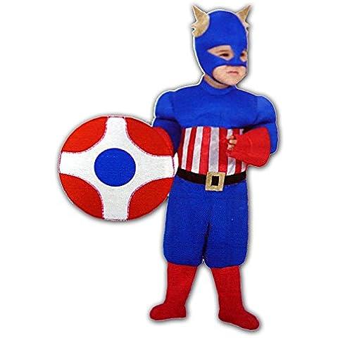 Costume Carnevale America Baby 4-5
