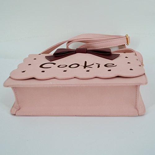 Millya , Damen Schultertasche, rose (rosa) - bb-00895-02C rose