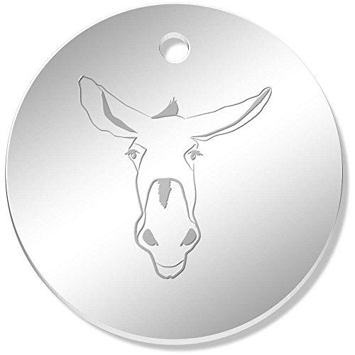 el Nase' Gespiegelte Anhänger / Schmuckanhänger (PN00034448) (Esel Nase)
