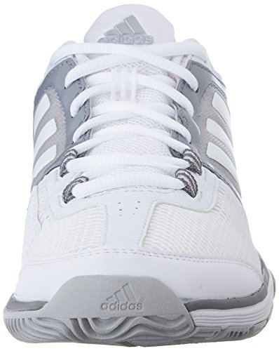 Chaussures Adidas Performance Barricade Training Club, choc vert / blanc / équipement vert, 5 M nou White/White/Clear Grey