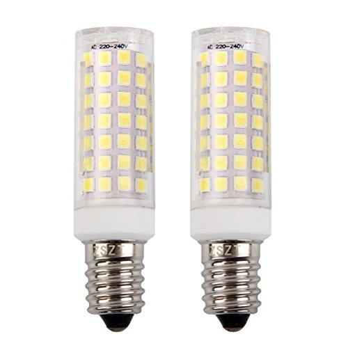 E14 bombilla LED 9W, ZSZT rosca Edison pequeña (SES), equivalente a bombilla...