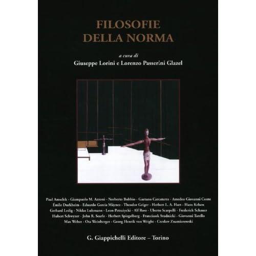 Filosofie Della Norma