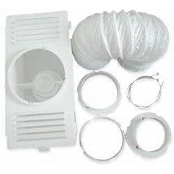 Kabalo Universal Sèche-linge Ventilation condenseur Kit - avec évent flexible, boîte de condenseur et connecteurs