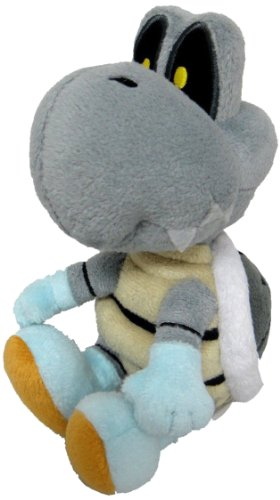 Super Mario - Dry Bones Plush - Little Buddy - 15cm 6""